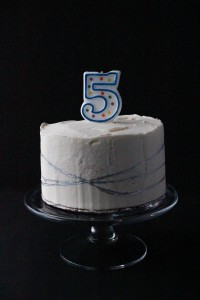 5 Year Old Smash Cake